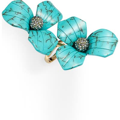 Lele Sadoughi Trillium Bouquet Ring