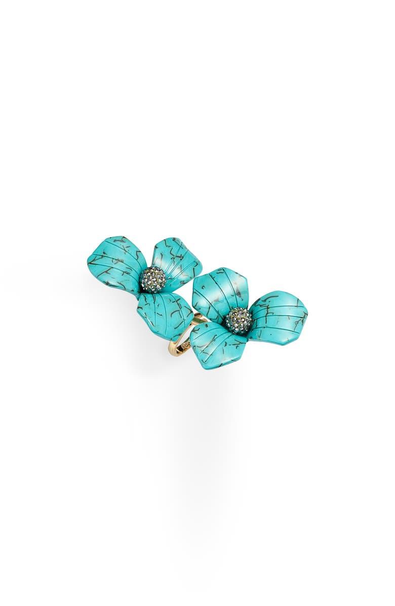LELE SADOUGHI Trillium Bouquet Ring, Main, color, 440