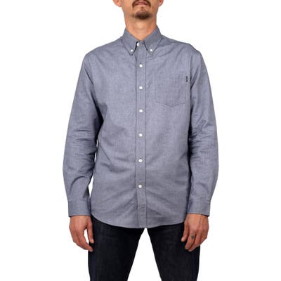 Lira Clothing Douglas Button-Down Shirt, Grey