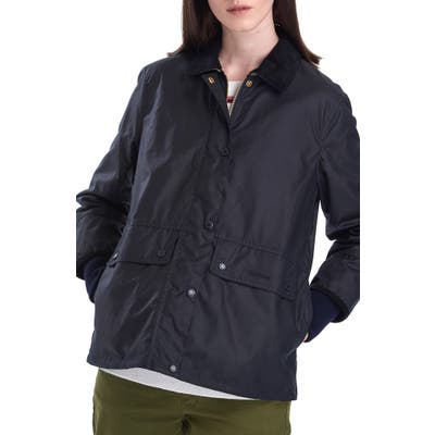 Barbour Tawny Water Resistant Waxed Jacket, US / 16 UK - Blue