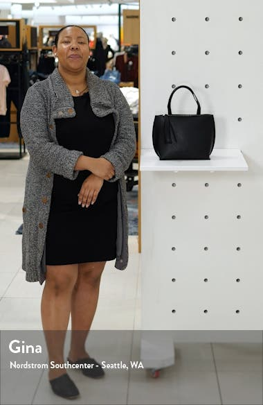 Faux Leather Tote, sales video thumbnail