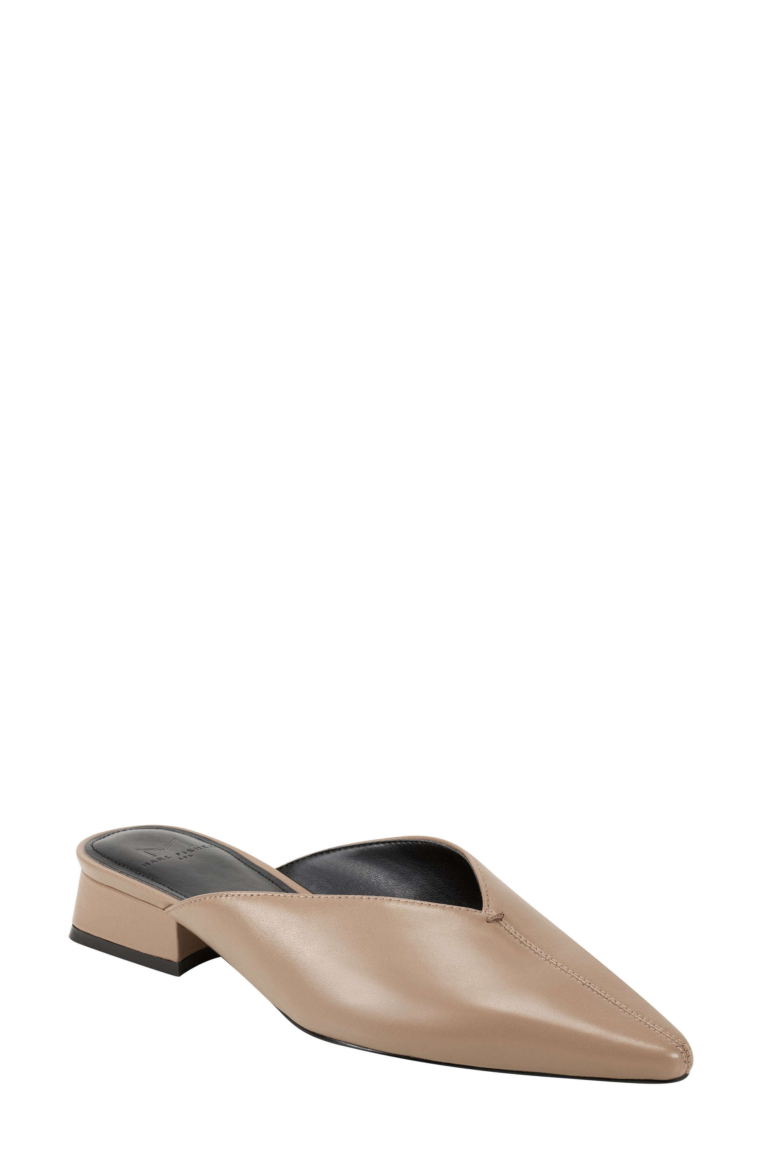 Strong lines define the contemporary style of this perfectly poised pointy-toe mule. Style Name: Marc Fisher Ltd Gilbert Mule (Women). Style Number: 6061812. Available in stores.