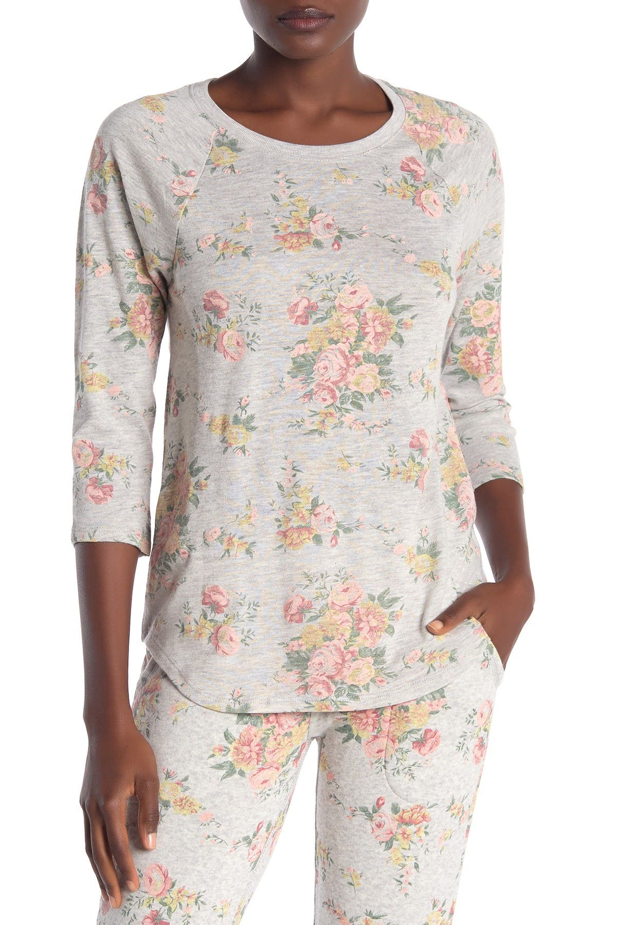 Image of Alternative 3/4 Length Sleeve Baseball T-Shirt