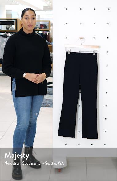 Ponte Crop Flare Pants, sales video thumbnail