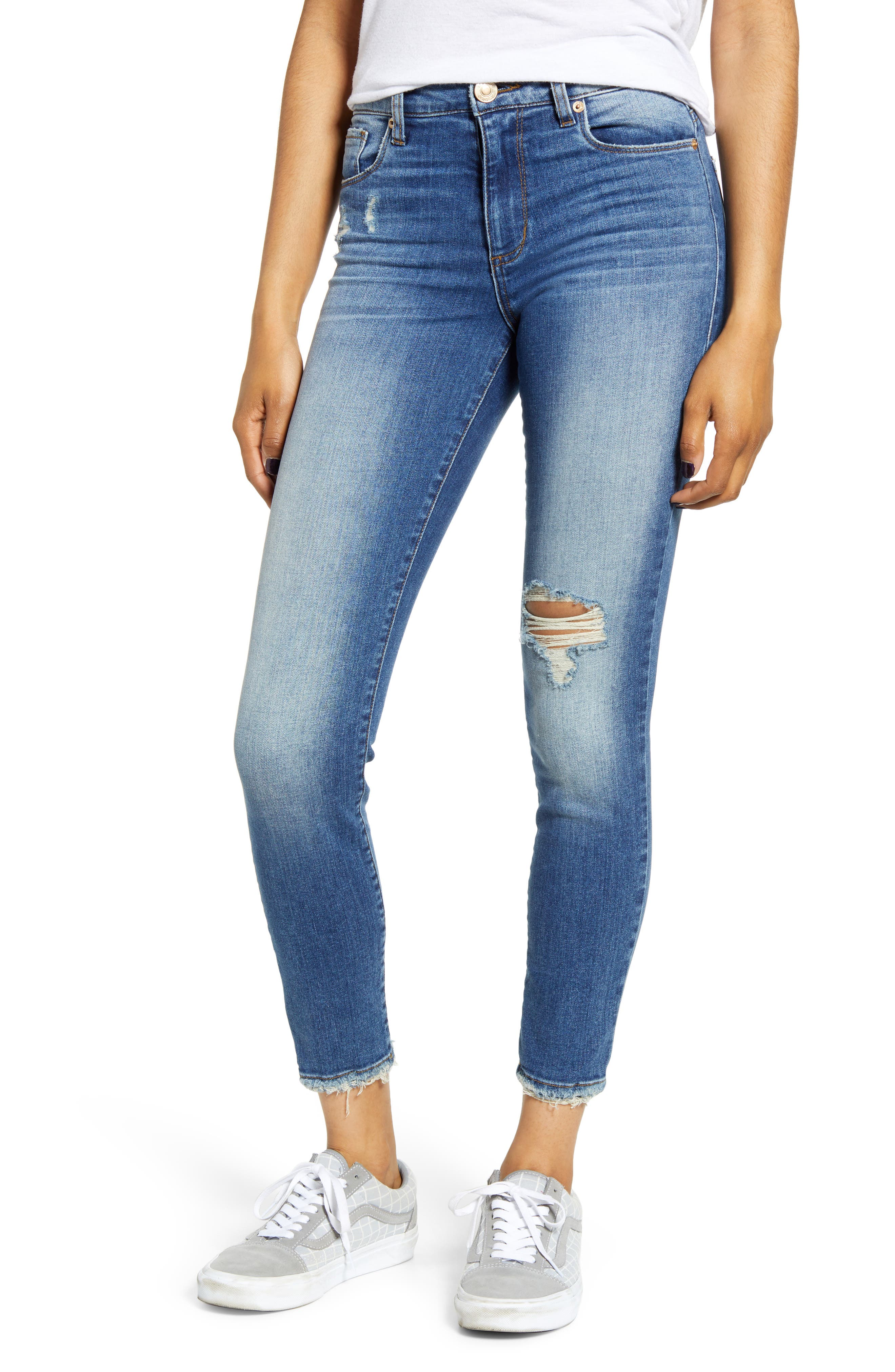 STS Blue Ellie Ripped High Waist Skinny Jeans (Brotherwood)