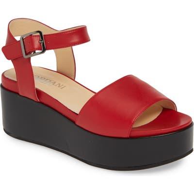 Cordani Karrie Platform Sandal - Red