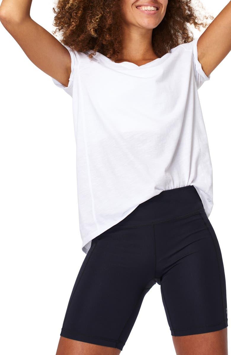 SWEATY BETTY Refresh T-Shirt, Main, color, WHITE