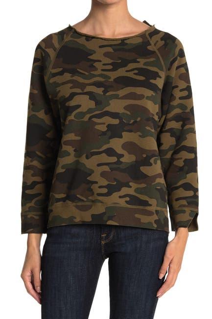 Image of NILI LOTAN Luka Scoop Neck Sweatshirt