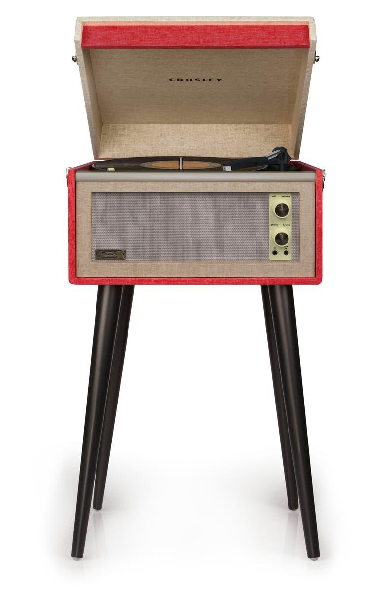 CROSLEY RADIO Dansette Bermuda Bluetooth Turntable, Main, color, 600