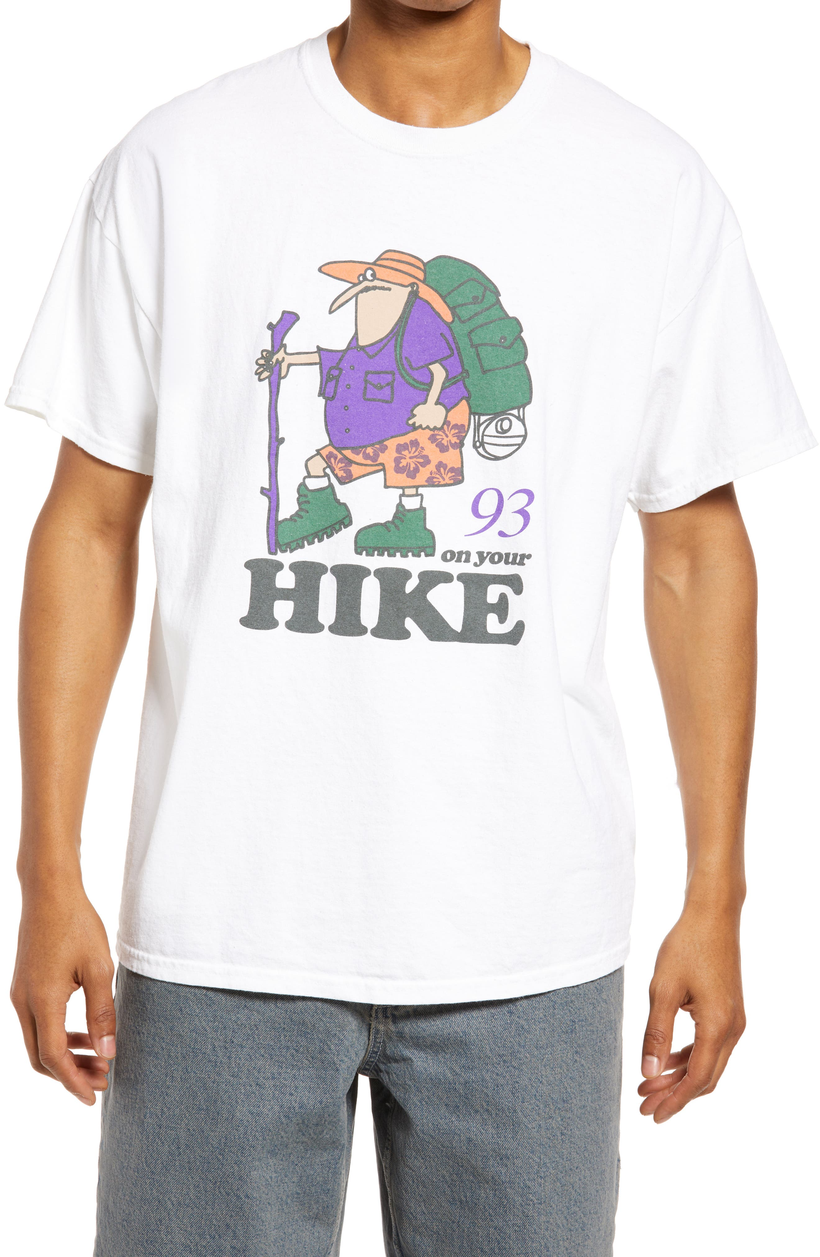 Men's On Your Hike Cotton Graphic Tee