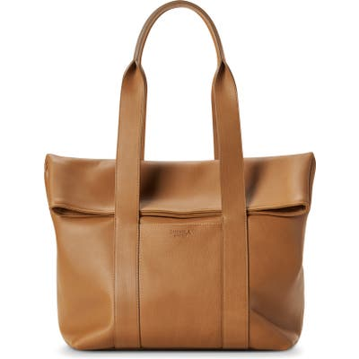 Shinola Cass Leather Tote - Brown
