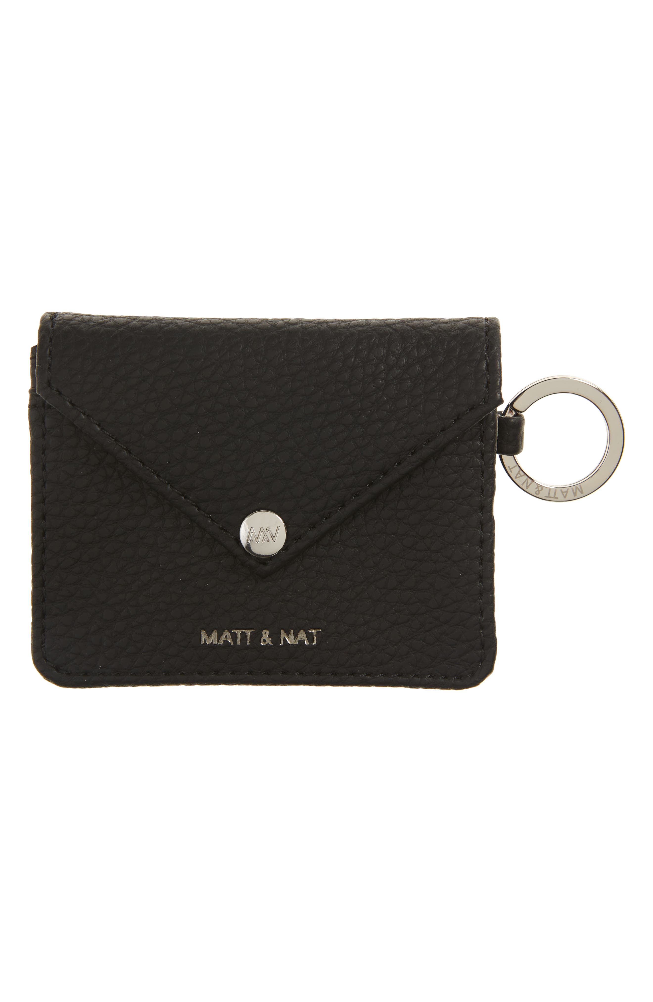 Ozma Vegan Leather Coin Purse With Key Ring