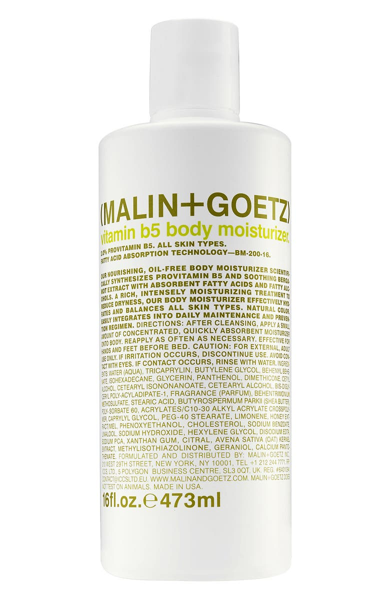MALIN+GOETZ Vitamin B5 Body Moisturizer, Main, color, NO COLOR