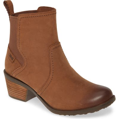 Teva Anaya Waterproof Chelsea Boot, Brown