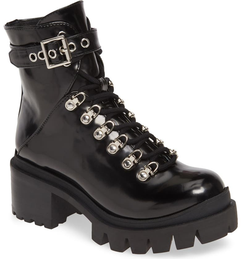 Czech Platform Combat Boot by Jeffrey Campbell