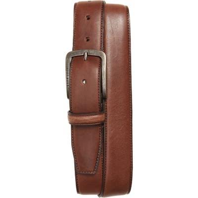 Boss Jor-Ce Leather Belt, Dark Brown