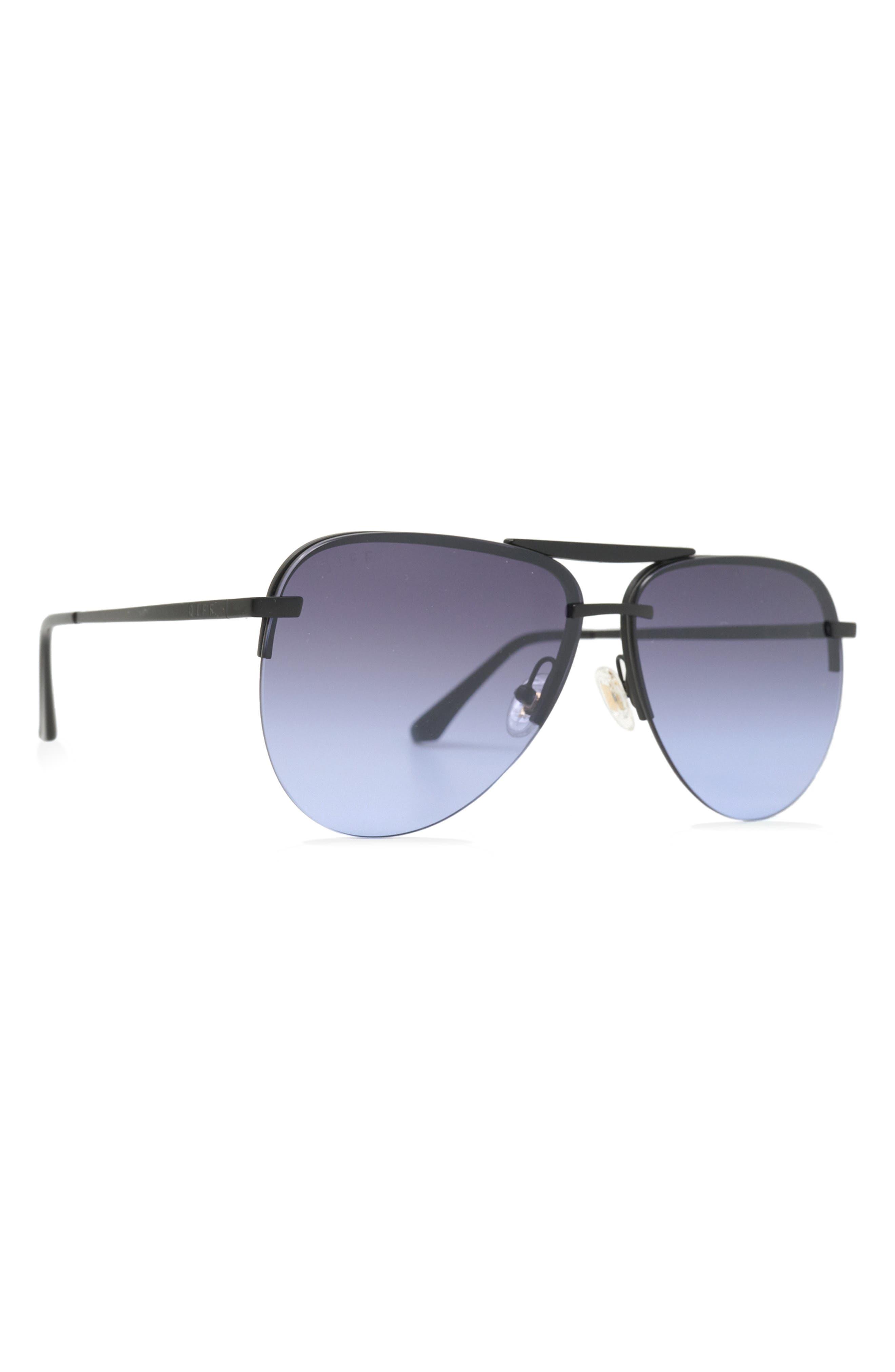 Tahoe 63mm Gradient Oversize Aviator Sunglasses