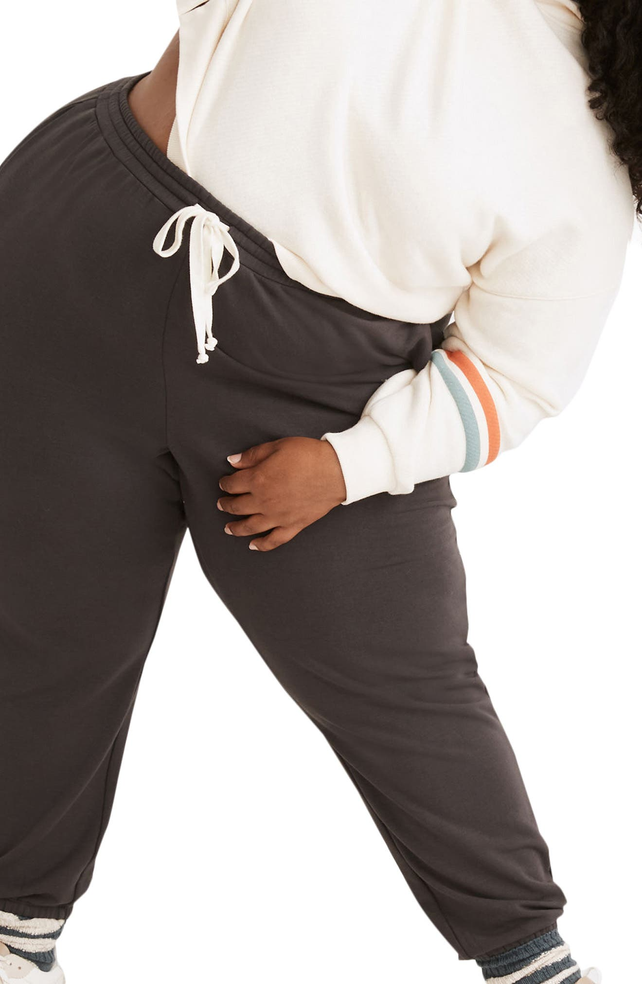 Plus Women's Madewell MWL Superbrushed Easygoing Sweatpants