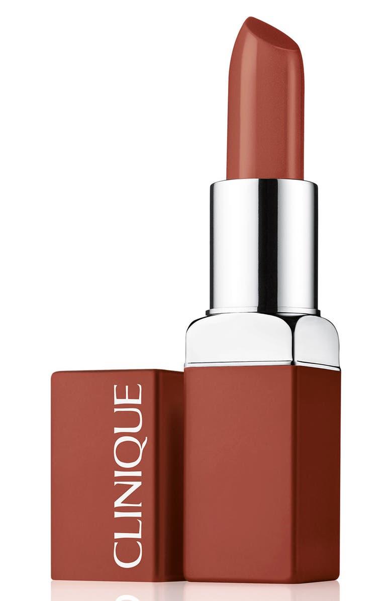 CLINIQUE Even Better Pop Lip Color Foundation Lipstick, Main, color, 18 TICKLED