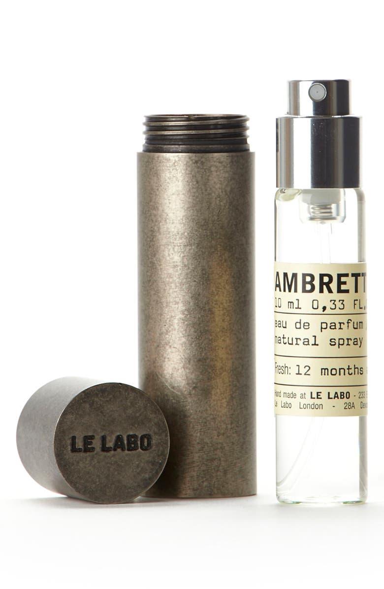 LE LABO 'Ambrette 9' Travel Tube, Main, color, NO COLOR