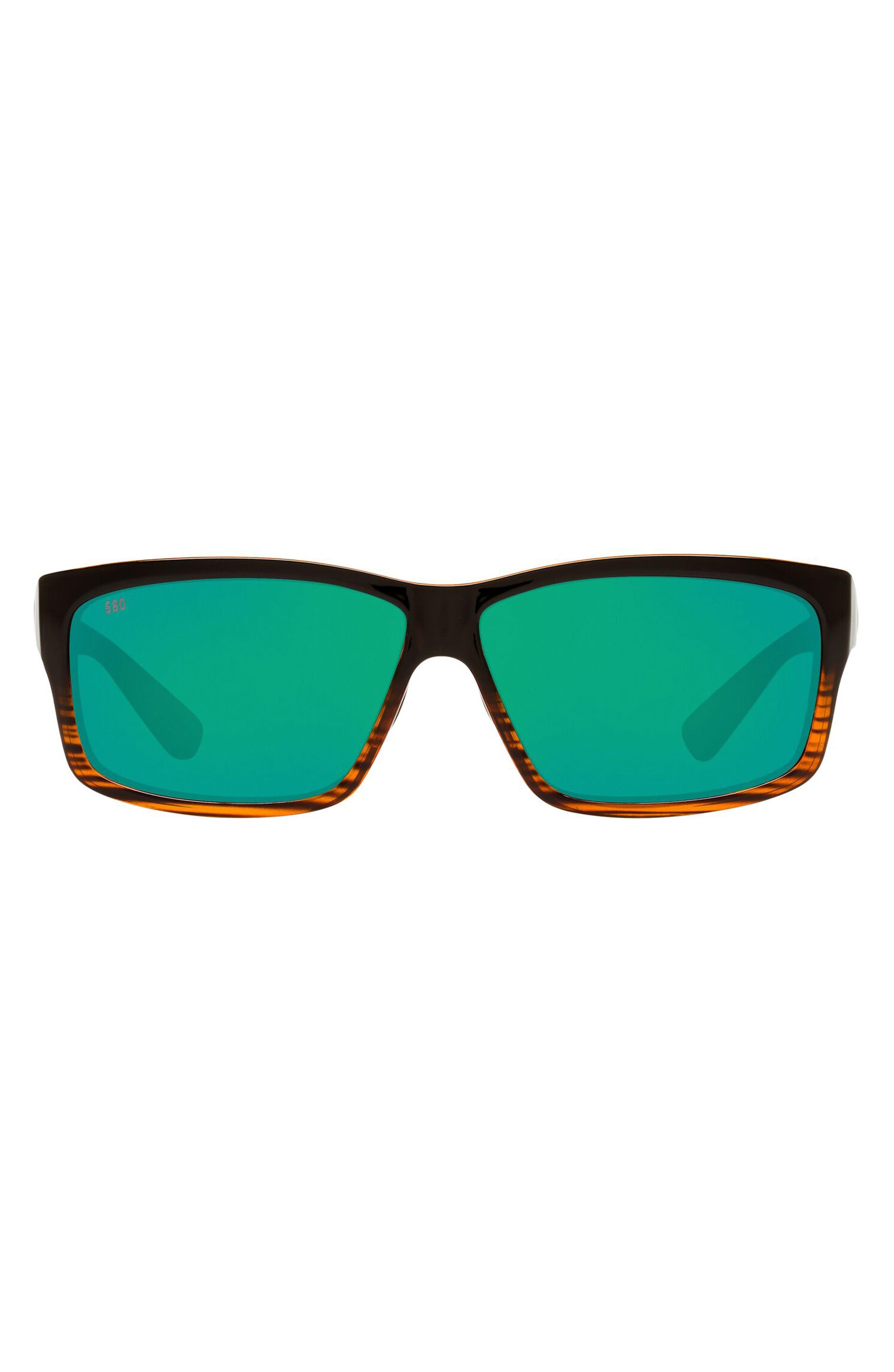 60mm Rectangle Sunglasses