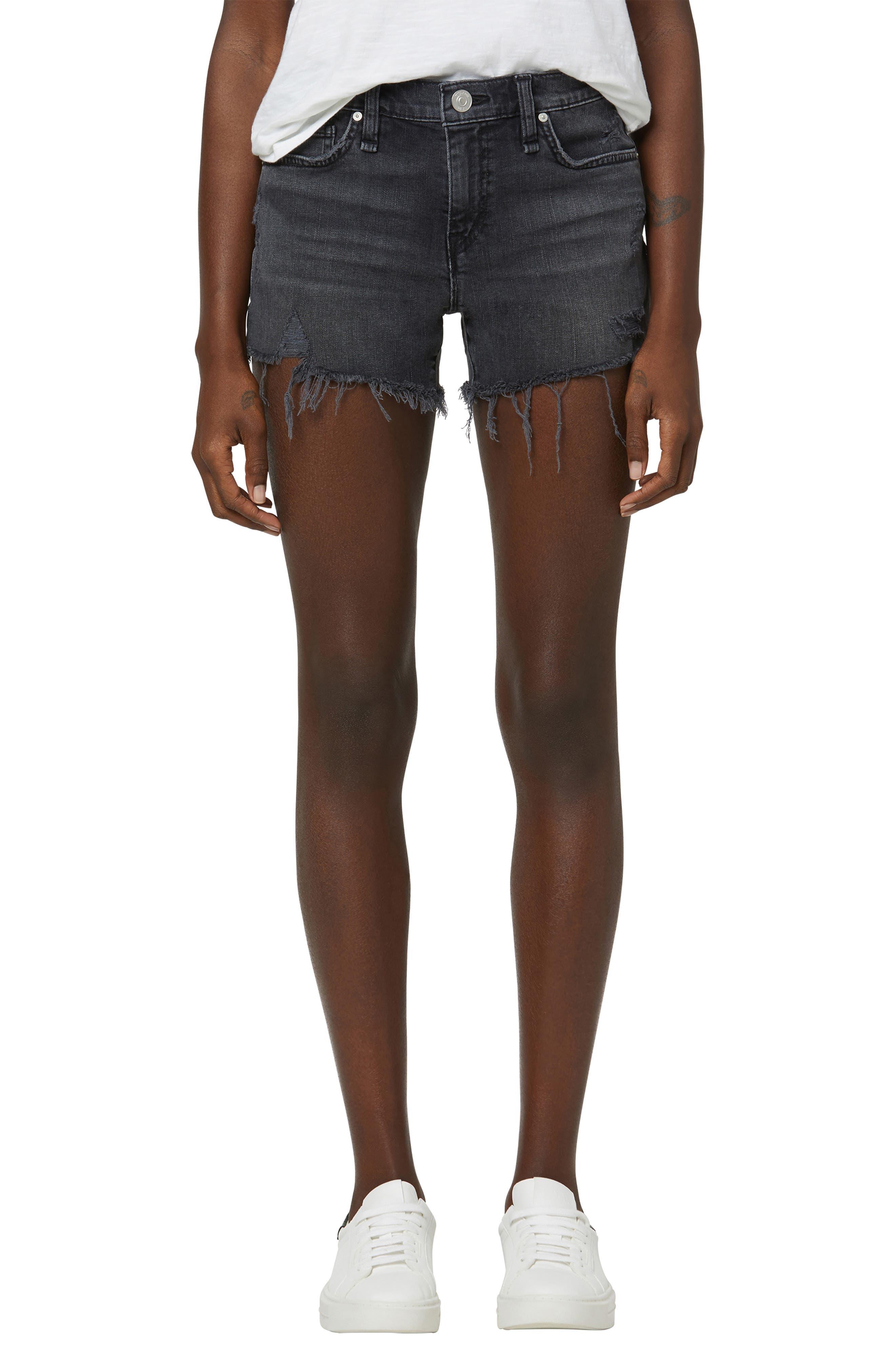 Gemma Denim Cutoff Shorts