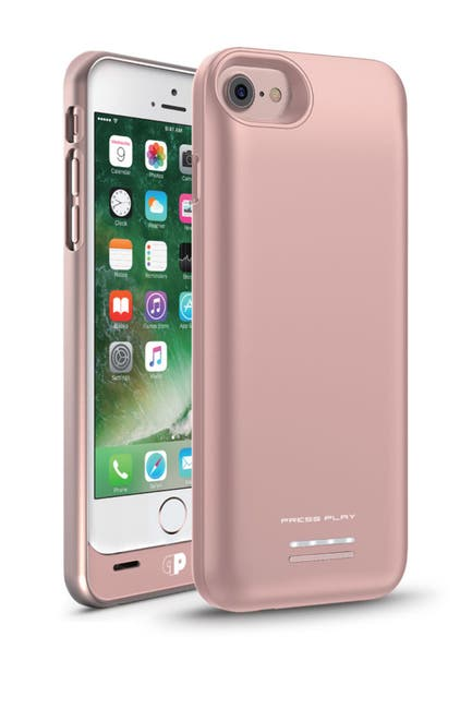 Image of PRESS PLAY MFi Venue Batter iPhone 7/6S/6 Case - Rose Gold