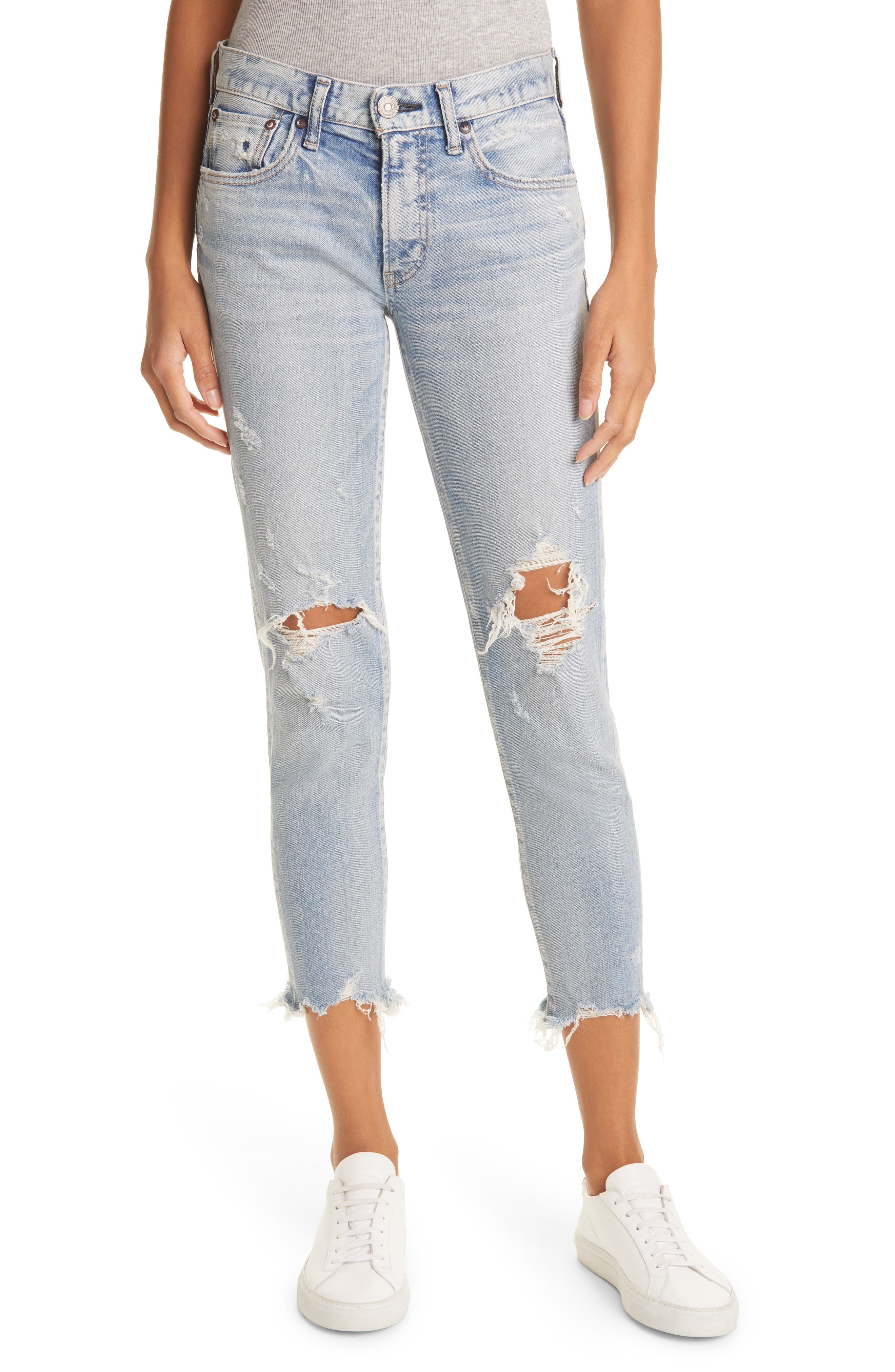 Altawood Ripped Ankle Skinny Jeans