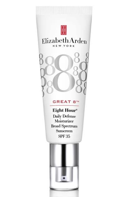 Elizabeth Arden EIGHT HOUR GREAT 8(TM) DAILY DEFENSE MOISTURIZER BROAD SPECTRUM SUNSCREEN SPF 35