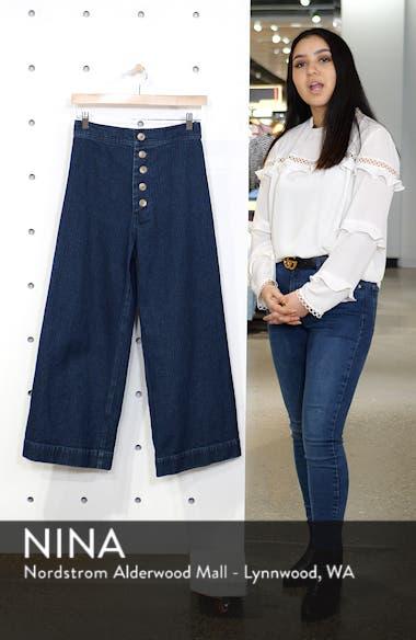 Sailor High Waist Crop Wide Leg Jeans, sales video thumbnail