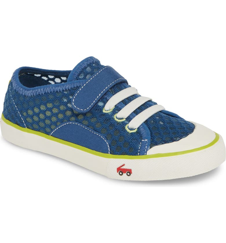 SEE KAI RUN Saylor Sneaker, Main, color, BLUE/ LIME