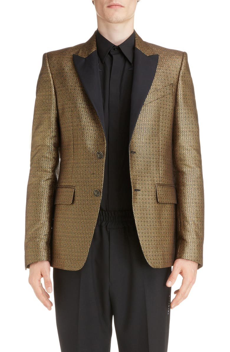 GIVENCHY Jacquard Dinner Jacket, Main, color, 005