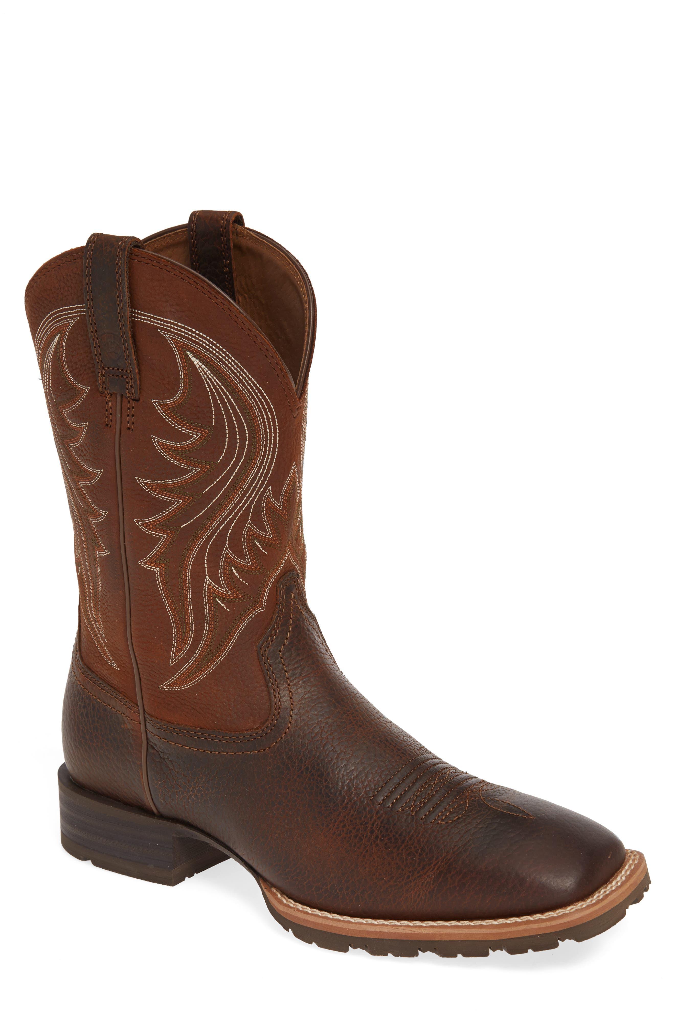 Ariat Hybrid Rancher Cowboy Boot, Brown