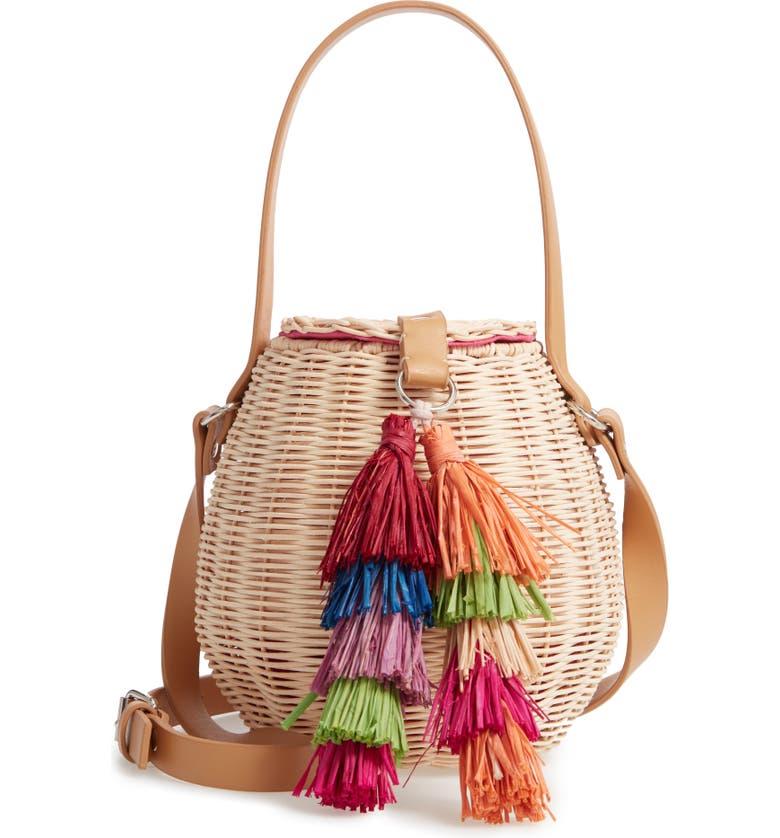 NORDSTROM Honey Pot Basket Crossbody Bag, Main, color, 235