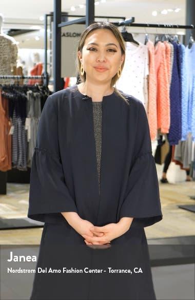 Linen Trapeze Dress, sales video thumbnail