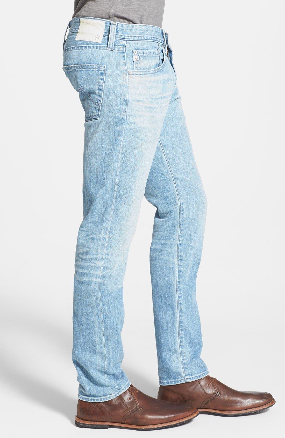 ,                             'Dylan' Slim Skinny Leg Jeans,                             Alternate thumbnail 8, color,                             457