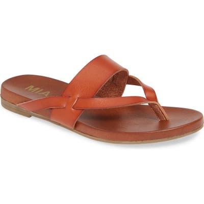 Mia Mariah Slide Sandal, Brown