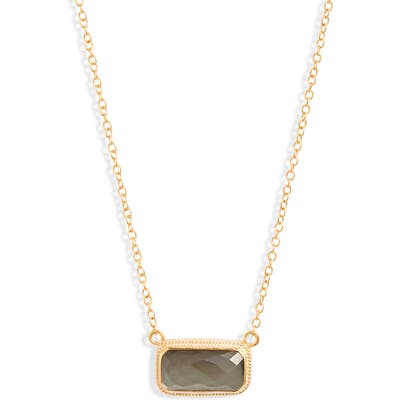 Anna Beck Baguette Stone Necklace (Nordstrom Exclusive)
