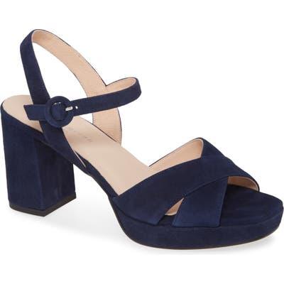 Patricia Green Selma Block Heel Sandal, Blue