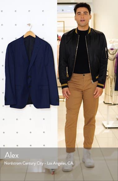 Novan Slim Fit Wool Blazer, sales video thumbnail