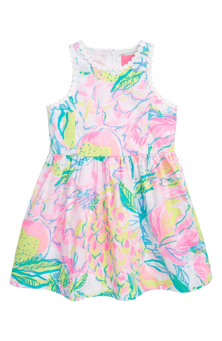 LILLY PULITZER<SUP>®</SUP> Mini Tori Fit & Flare Sundress, Main, color, 678