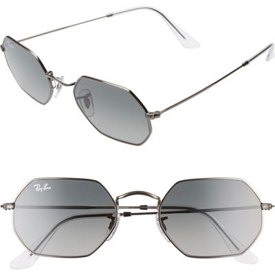 Ray-Ban 5m Rectangular Sunglasses - Gunmetal/ Grey Gradient