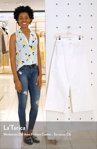 BB Wide Leg Crop Jeans, sales video thumbnail