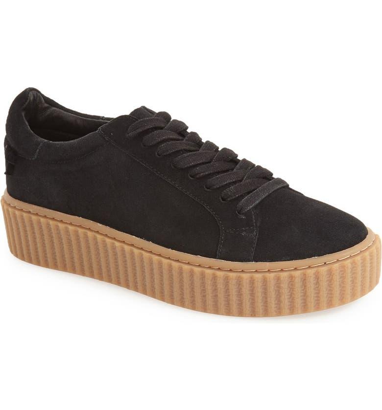 JSLIDES 'Parker' Platform Sneaker, Main, color, 002