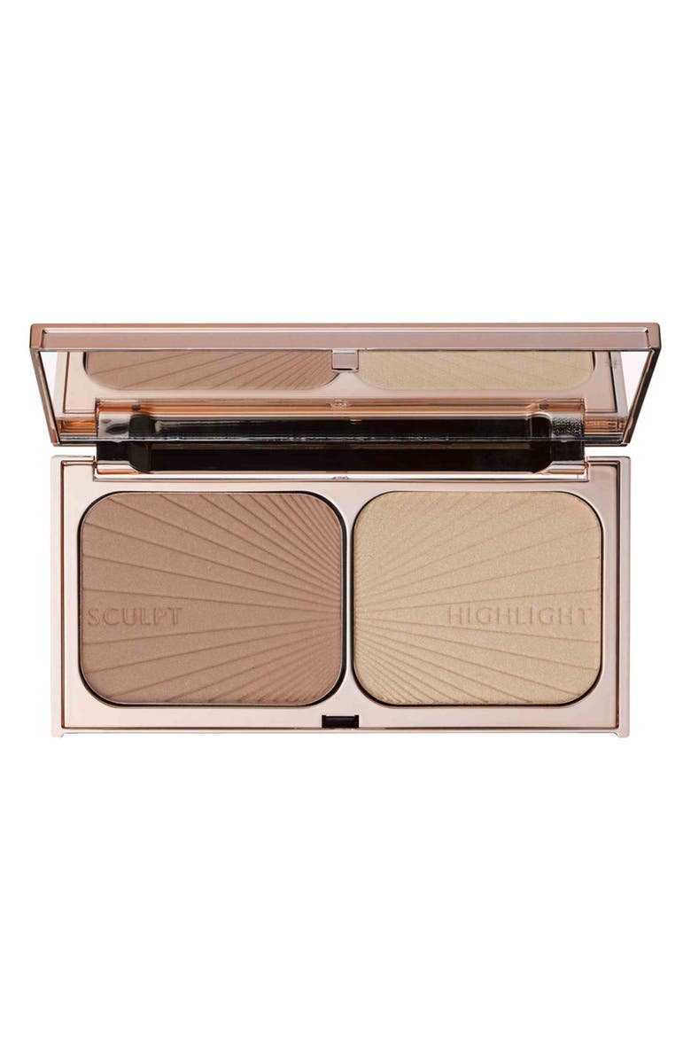 CHARLOTTE TILBURY Filmstar Bronze & Glow Contour Duo, Main, color, NO COLOR