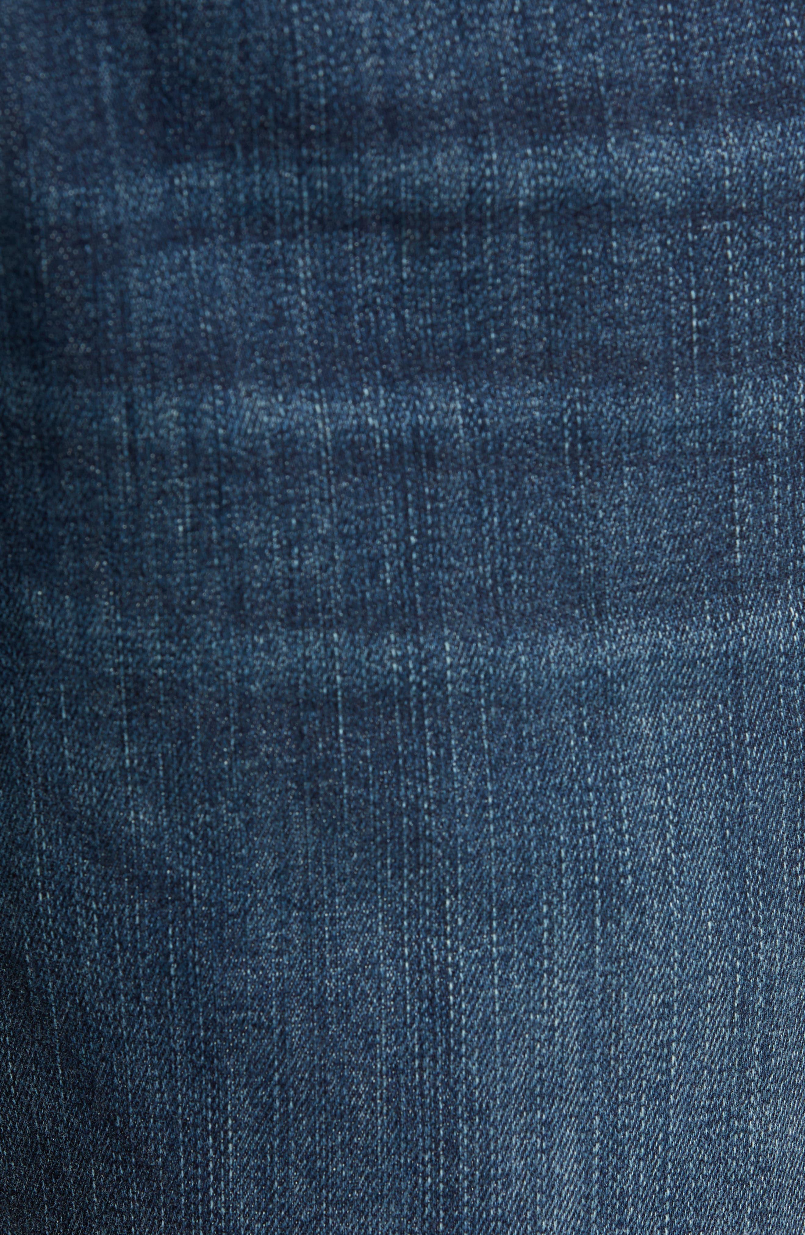 ,                             Transcend Vintage Federal Slim Straight Leg Jeans,                             Alternate thumbnail 6, color,                             400