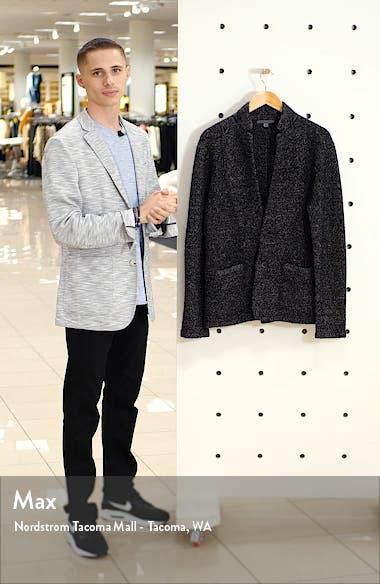 Star USA Classic Fit Sweater Knit Blazer, sales video thumbnail