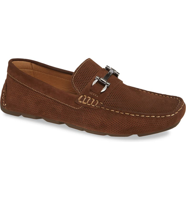 1901 Avalon Driving Shoe, Main, color, BROWN NUBUCK