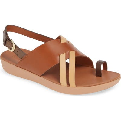 Fitflop Loopy Slingback Sandal, Brown (Nordstrom Exclusive)