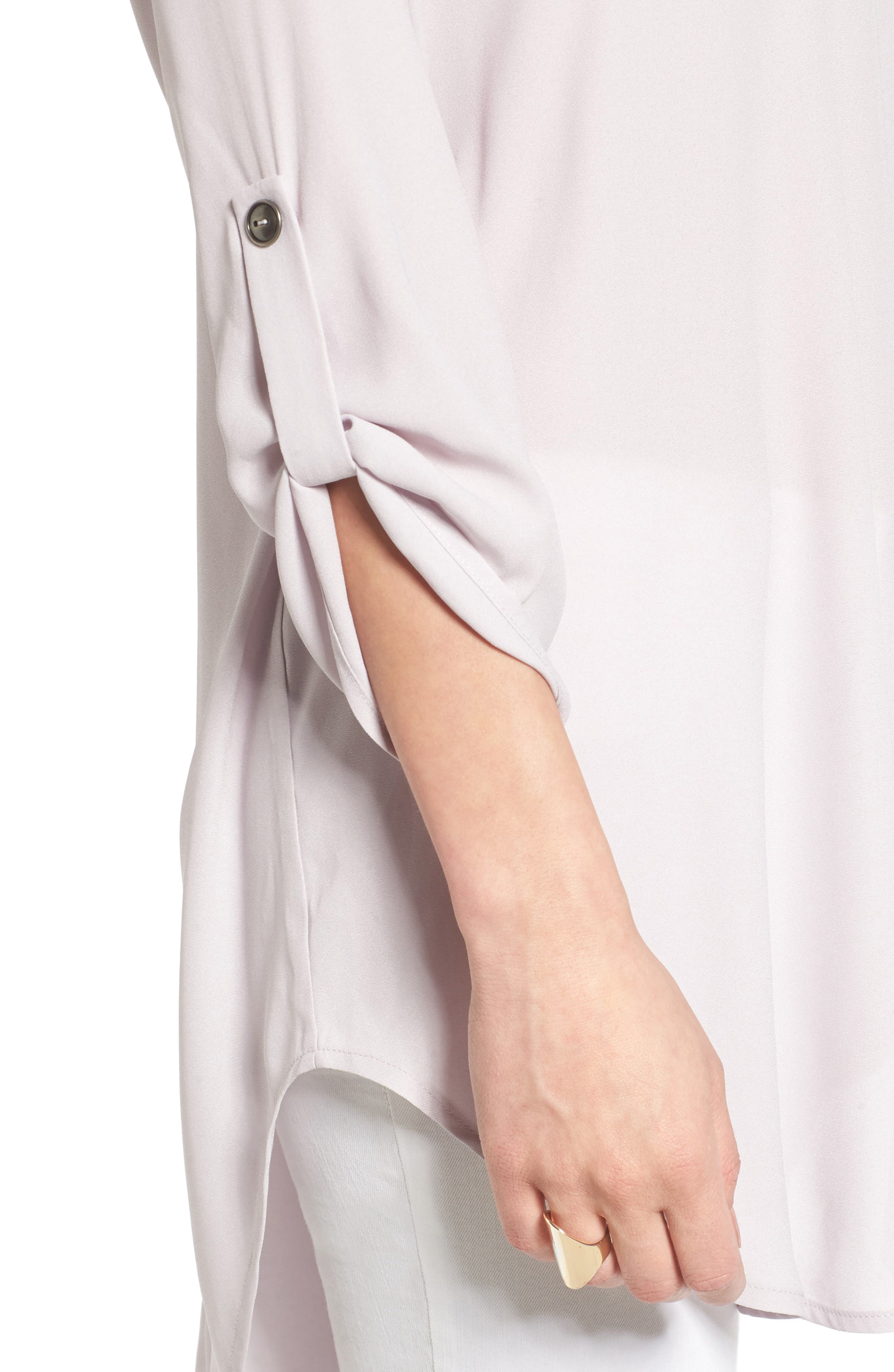 ,                             Perfect Roll Tab Sleeve Tunic,                             Alternate thumbnail 321, color,                             503